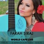 Farah Siraj _World Cafe Live 2-_0_15