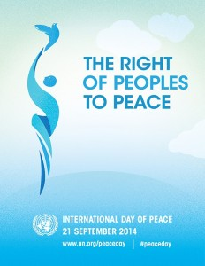 Right Of Peoples To Peace Graphic