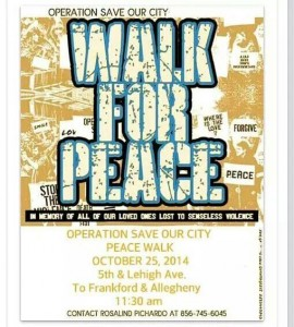Walk for Peace 10-25