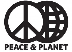 Peace and Planet logo