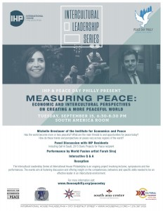 IHP Intercultural Leadership Series Peace Day Philly Flyer 8.24.15