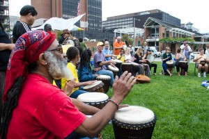 Ashack and Drum Circle